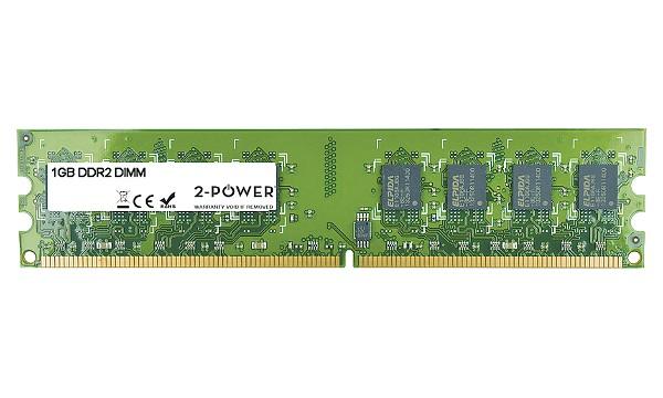 2-Power 1GB PC2-6400U 800MHz DDR2 Non-ECC CL6 DIMM 1Rx8 ( DOŽIVOTNÍ ZÁRUKA )