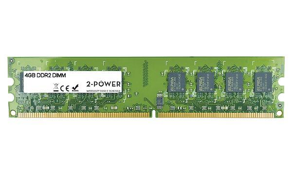 2-Power 4GB PC2-6400U 800MHz DDR2 Non-ECC CL6 DIMM 2Rx8 ( DOŽIVOTNÍ ZÁRUKA )