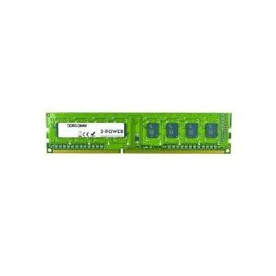2-Power 8GB PC3-12800U 1600MHz DDR3 CL11 Non-ECC DIMM 2Rx8 ( DOŽIVOTNÍ ZÁRUKA )