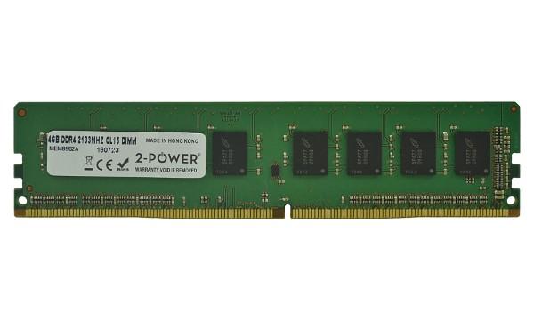 2-Power 4GB PC4-17000U 2133MHz DDR4 CL15 Non-ECC DIMM 1Rx8 ( DOŽIVOTNÍ ZÁRUKA )