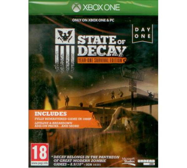 State of Decay: Year-One Survival Edition XONE