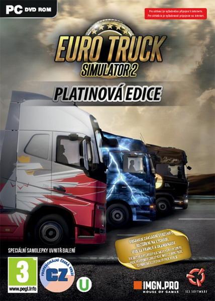 Euro Truck Simulator 2: Platinová edice PC
