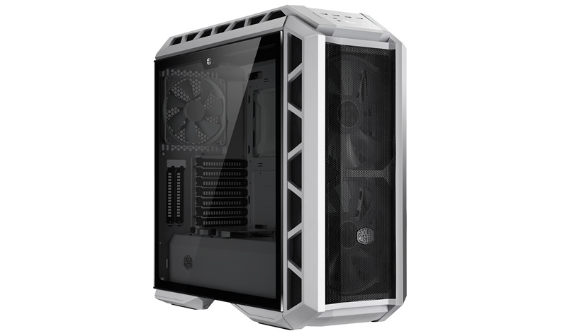 Cooler Master MasterCase H500P Mesh White, ATX, bílá, USB3.0, bez zdroje