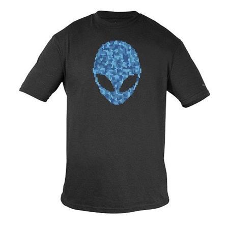 Alienware Alien Ultramodern Puzzle Head Gaming Gear T-Shirt - XXL