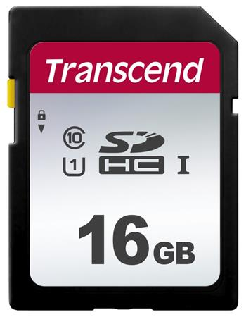 Transcend 16GB SDHC 300S (Class 10) UHS-I U1 paměťová karta