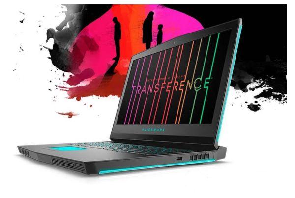 DELL Alienware 17 R5/i7-8750H/16GB/256GB SSD+1TB/GTX 1070 8GB/QHD/Win 10