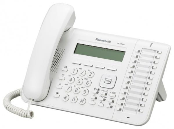 Panasonic KX-DT543X , bílý