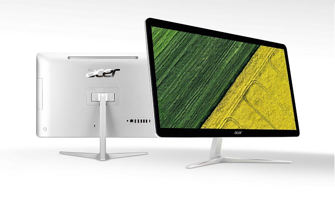 "Acer Aspire Z24-880 ALL-IN-ONE 23,8"" Touch FHD LED/Pentium G4560T/4GB/1TB/DVDRW/"