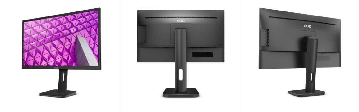 """AOC LCD 22P1 21,5"""" MVA/1920x1080/5ms/3000:1/50mil:1/VGA/DVI/HDMI/DP/4xUSB/pivot/"""