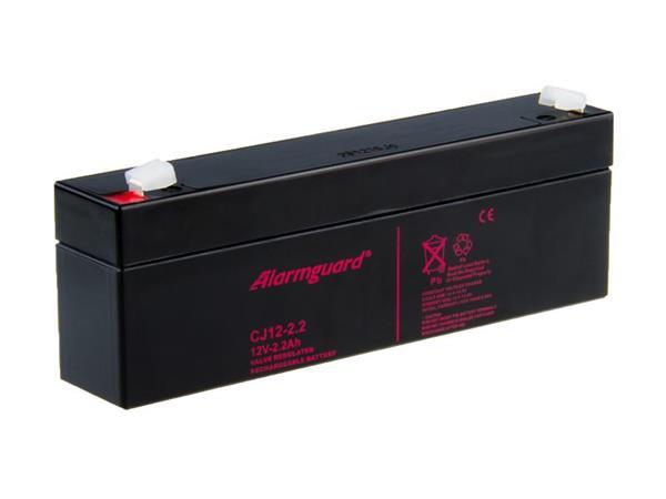 Alarmguard 12V 2,2Ah olověný akumulátor T1 (CJ12-2.2)