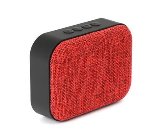 OMEGA reproduktor PMG6 bluetooth, 4v1 - FM rádio, USB port, slot MicroSD, červen