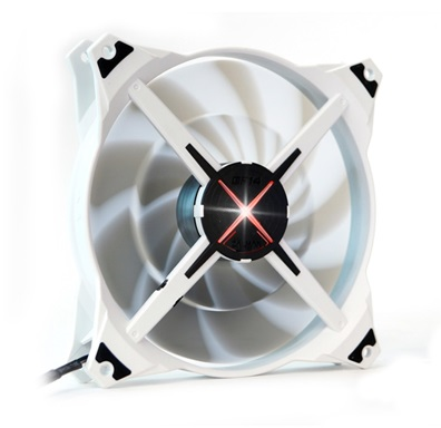 Zalman ventilátor ZM-DF14 SF 140mm, fan control, LED red
