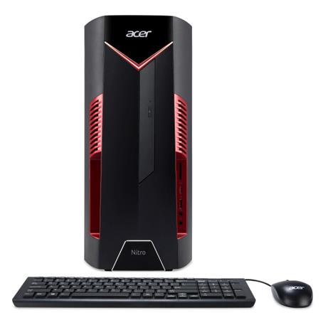 Acer Nitro N50-600 i7-8700/8GB/1TB+16GB Intel Optane/GTX 1050 Ti/DVDRW/W10 Home