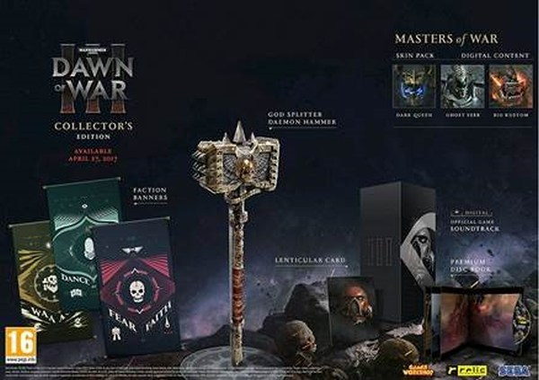 Warhammer 40.000: Dawn of War III Collector`s Edition PC