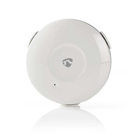 Nedis WIFIDW10WT - WiFi Chytrý Detektor Úniku Vody | Napájení na baterii