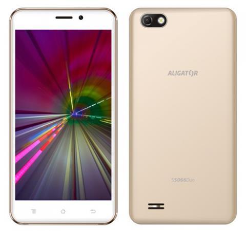 ALIGATOR S5066 Duo 8GB zlatý