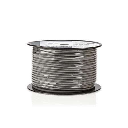 Nedis COTR15030GY100 - Pružný Kabel k Reproduktoru | 2x 1,5 mm2 | 100 m | Cívka
