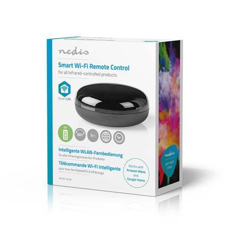 Nedis WIFIRC10CBK - Chytrý Univerzální Wi-Fi Dálkový Ovladač | Infračervený