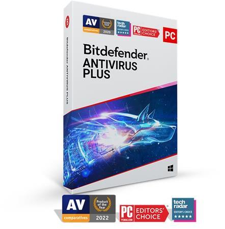 Bitdefender Antivirus Plus 3 zařízení na 2 roky