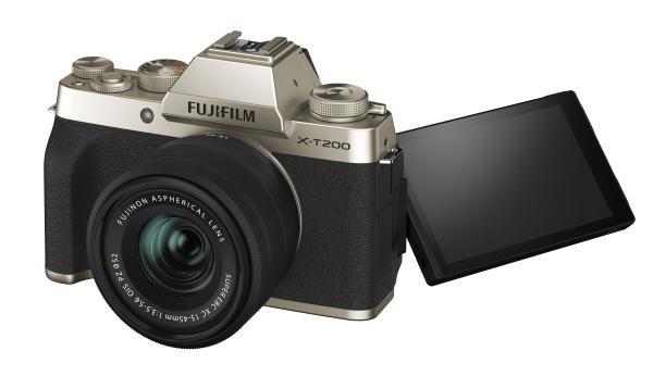 Fujifilm X-T200 + XC15-45MM - Gold