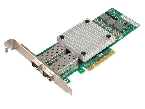 XtendLan XL-ENW-9842 íťová karta, PCI-E x8, 10Gbps, 2x SFP+, Broadcom BCM57810S,