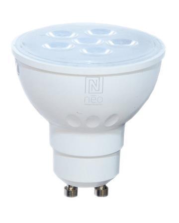 IMMAX NEO LED žárovka GU10/230V 4,8W TB 350lm Zigbee Dim
