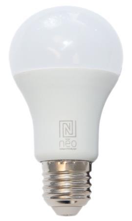 IMMAX NEO SMART LED žárovka E27 9W RGBW - barevná i teplá - studená bílá, stmíva
